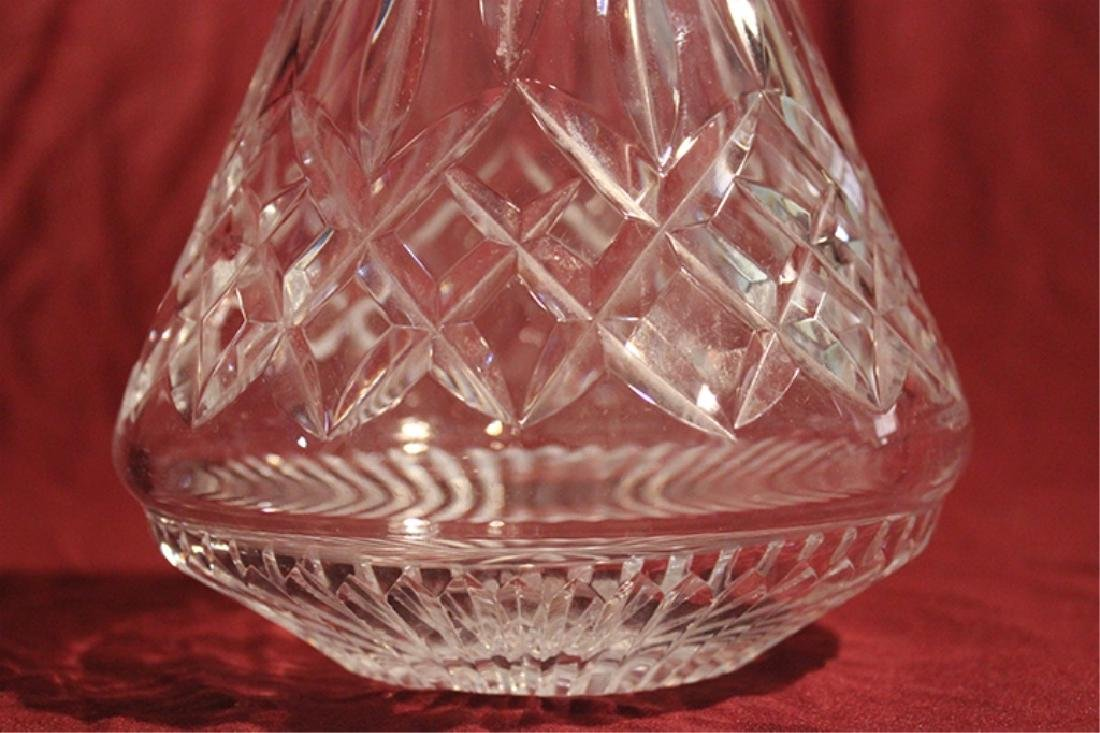 Waterford Crystal Decanter and Stopper - 3