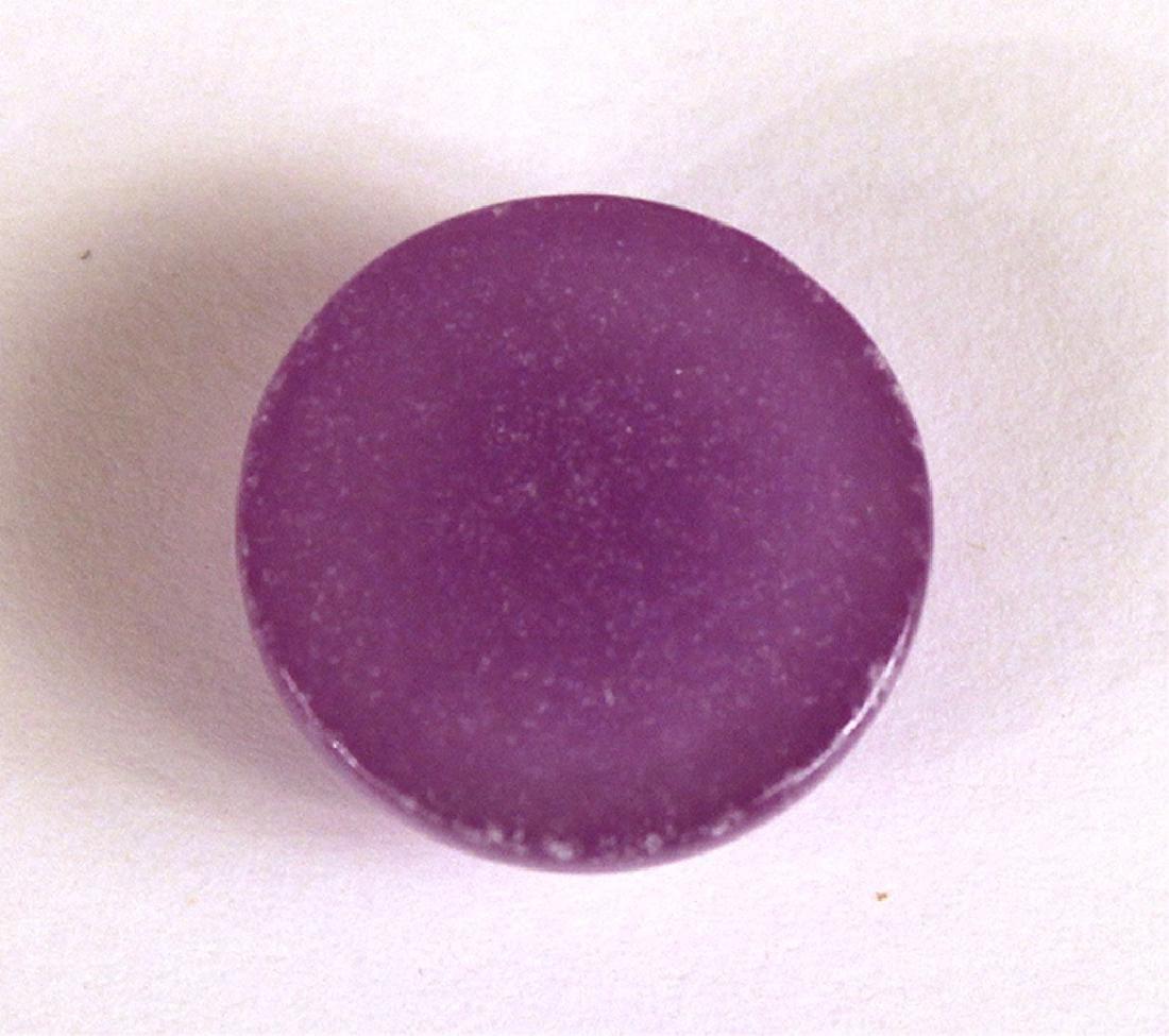 18MM Lavender Jade Gemstone - 4