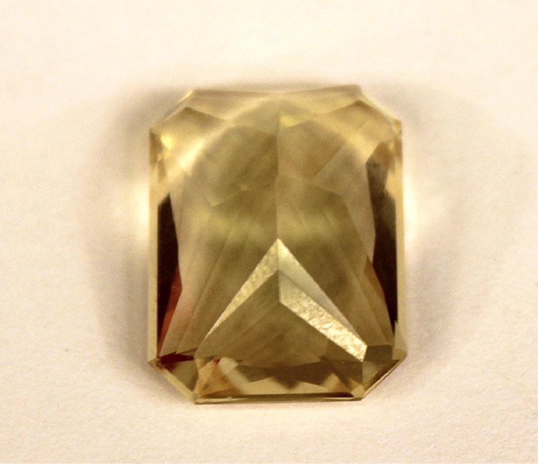 12.25 CT MIN 18x13MM Yellow Labradorite Gemstone - 3