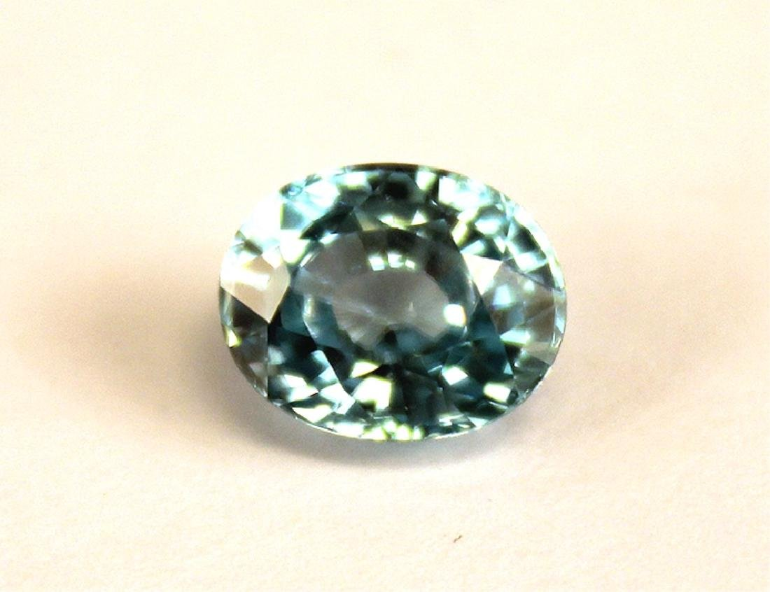 4.82 CT MIN 10x8MM Cambodian Blue Zircon Gemstone