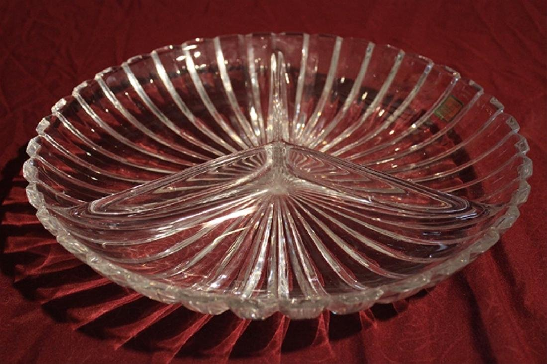 Marquis by Waterford Crystal Sectioned Bowl - 4