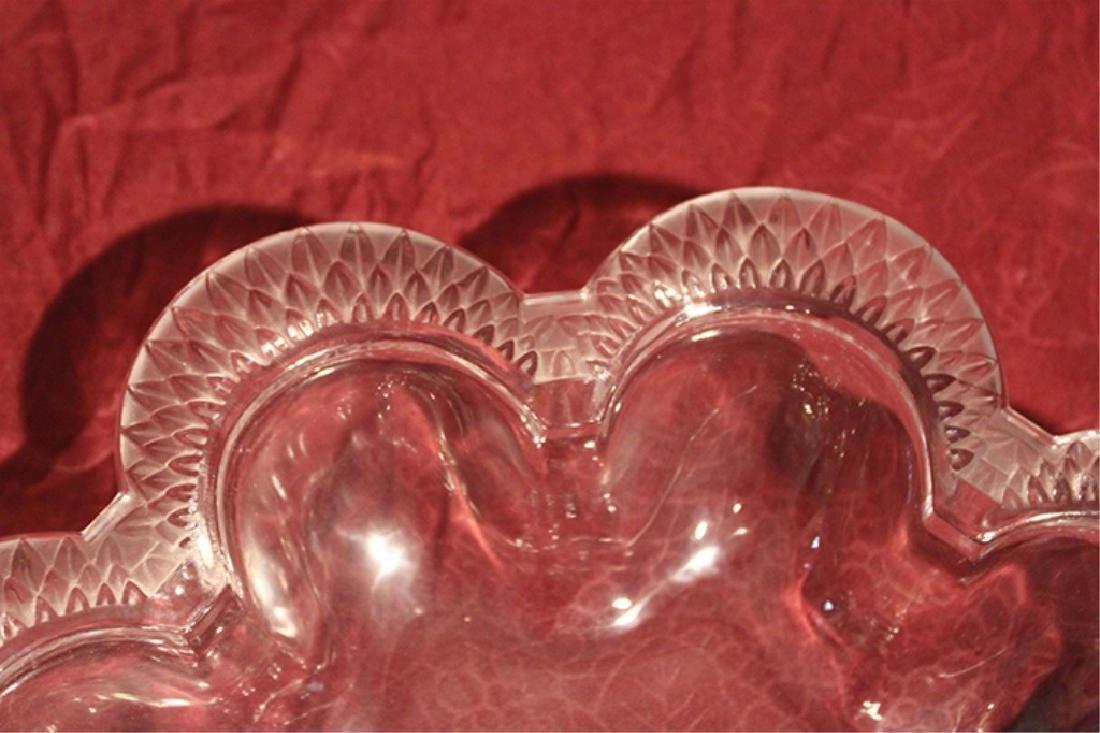 Lalique Crystal Bowl - 4