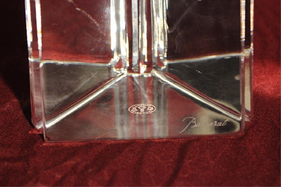 Baccarat Crystal Obelisk with Box - 5