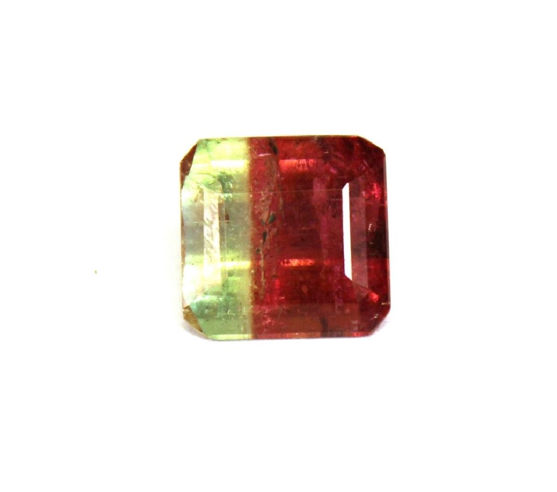 6.60 CT Bi Color Tourmaline Gemstone