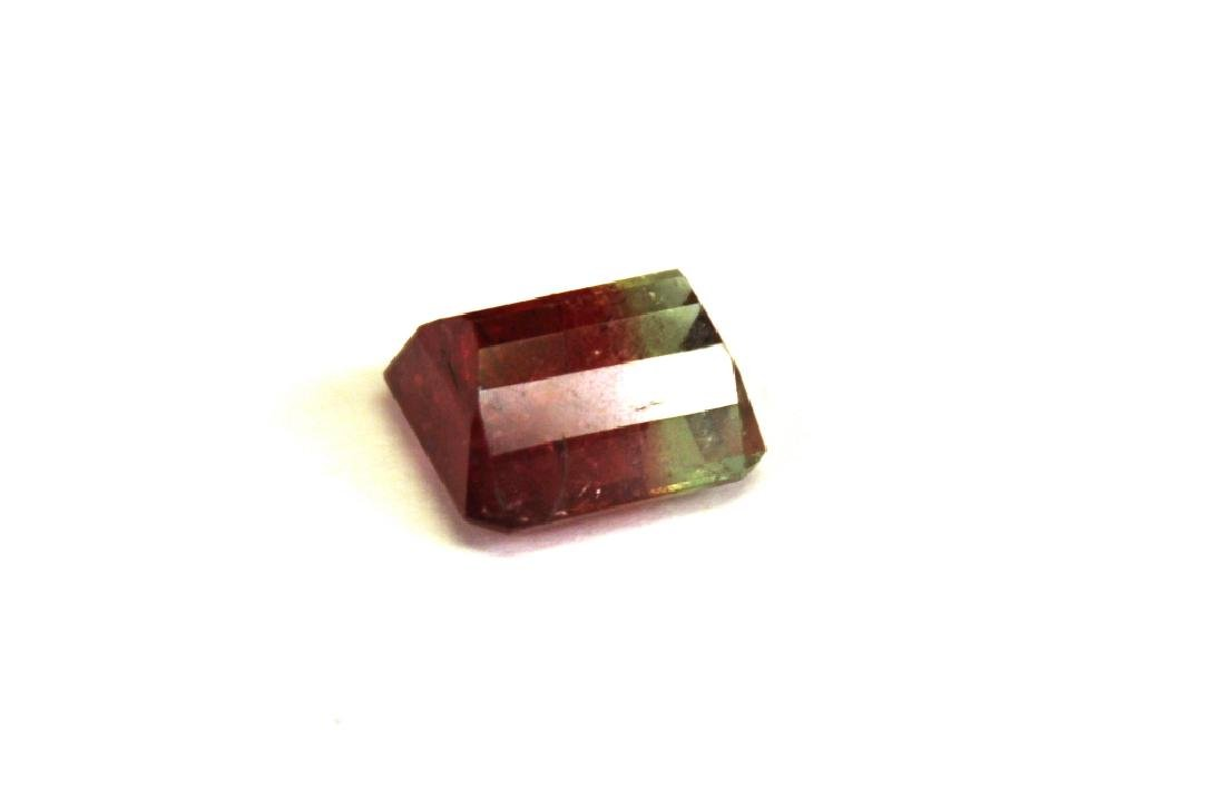 6.60 CT Bi Color Tourmaline Gemstone - 3