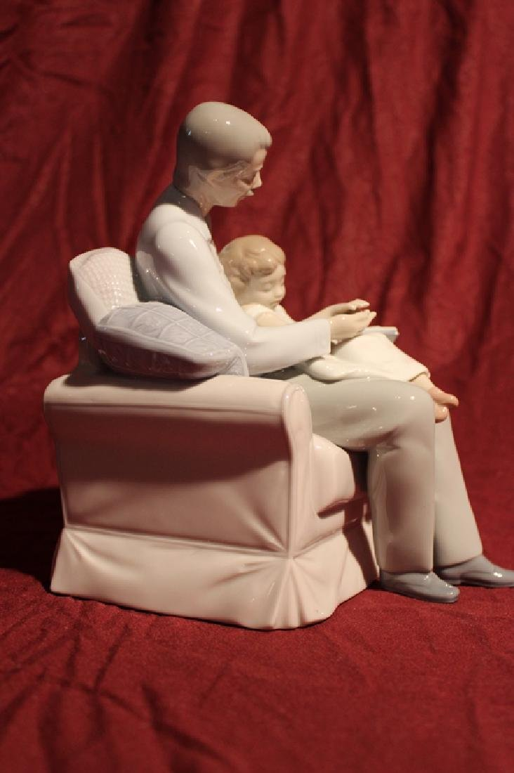 Lladro Spain Father and Daughter - 5