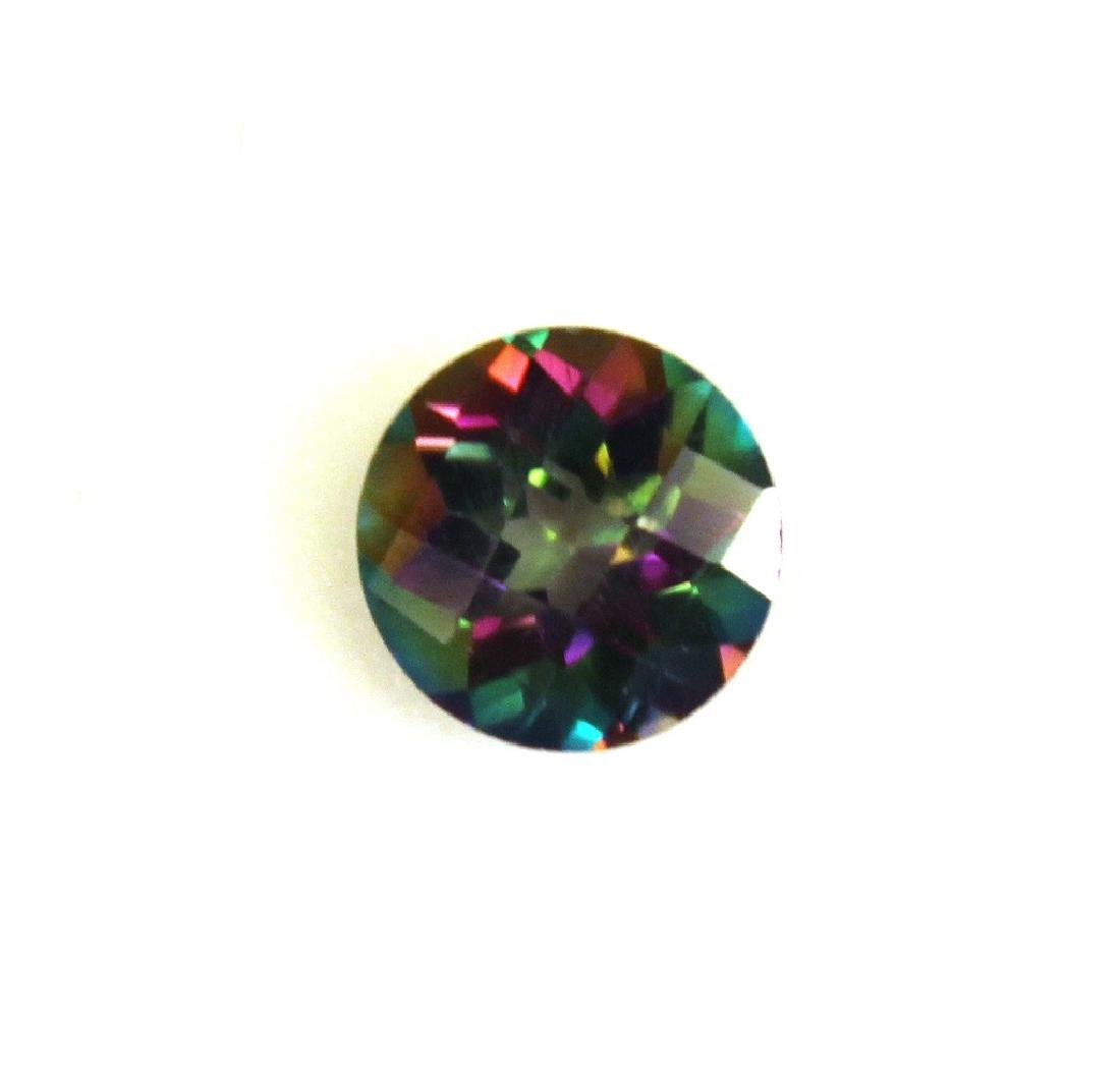 2.60 CT MIN 9MM Green Mystic Topaz Gemstone