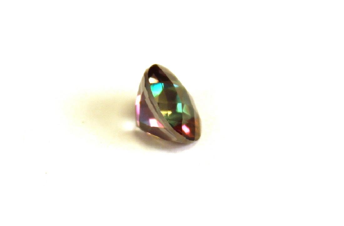 2.60 CT MIN 9MM Green Mystic Topaz Gemstone - 2