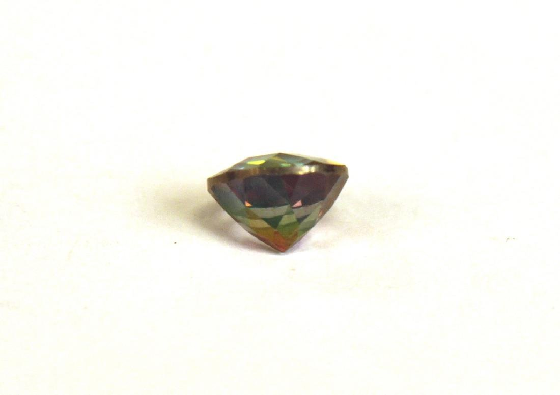 2.60 CT MIN 9MM Green Mystic Topaz Gemstone - 3