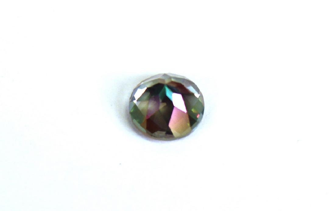 2.60 CT MIN 9MM Green Mystic Topaz Gemstone - 4