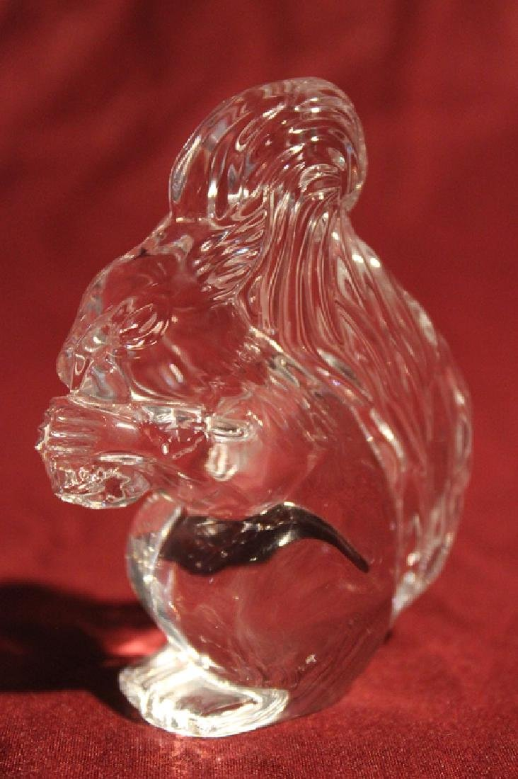 Waterford Crystal Squirrel