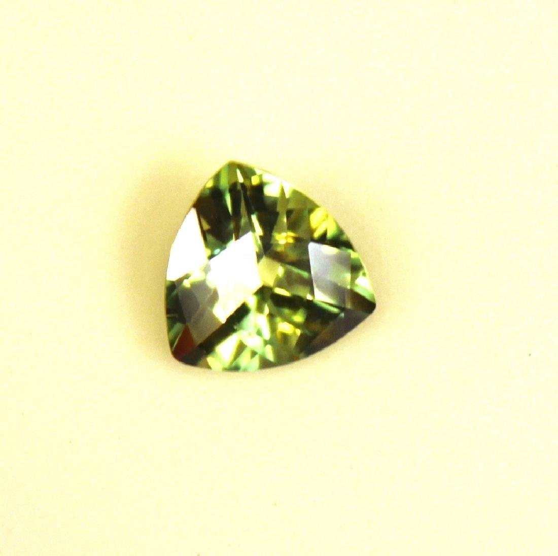 Approx 3.25 CT 10x10MM Kiwi Topaz Gemstone