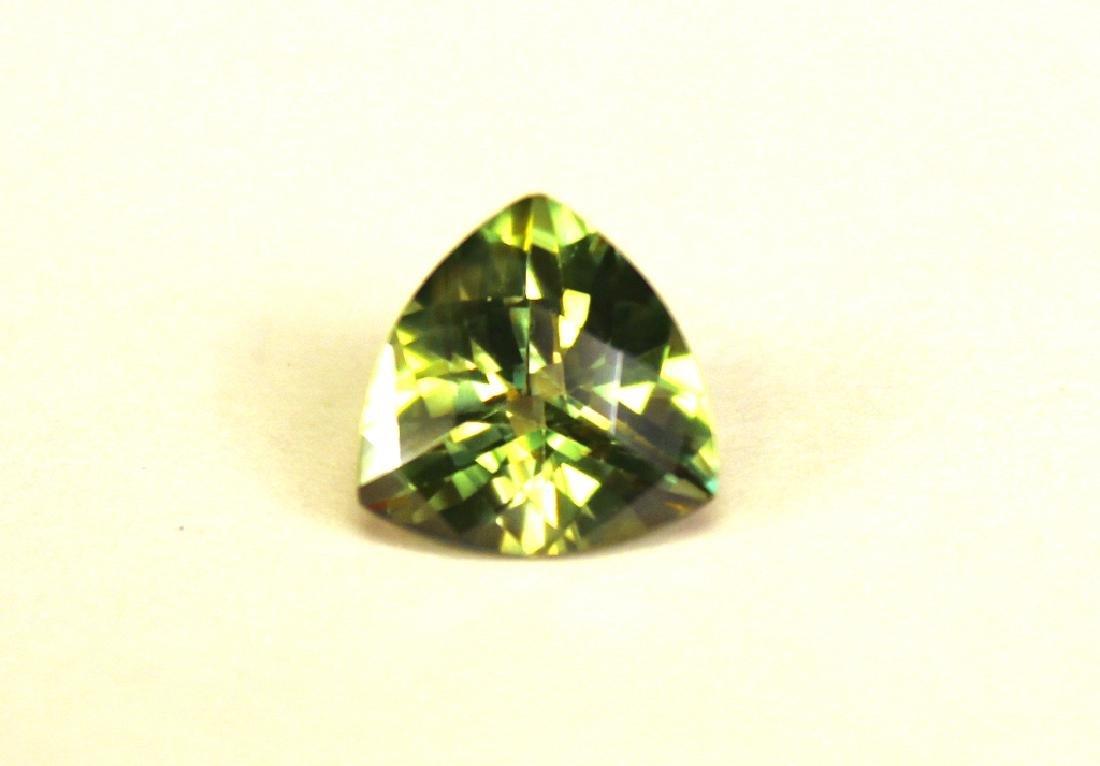Approx 3.25 CT 10x10MM Kiwi Topaz Gemstone - 2