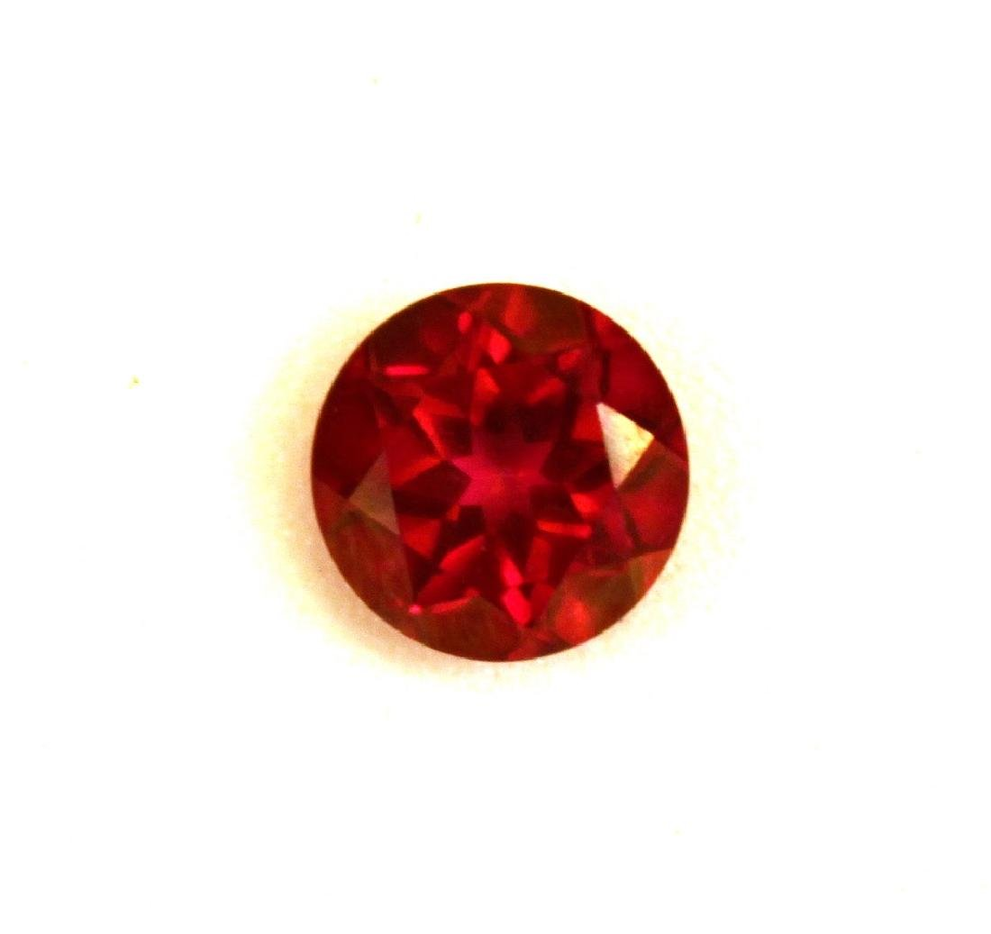 2.00 CT MIN 8MM Crimson Red Topaz Gemstone