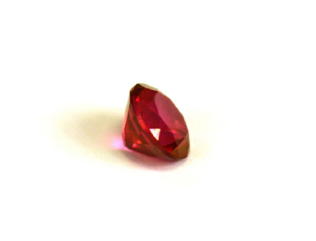 2.00 CT MIN 8MM Crimson Red Topaz Gemstone - 2