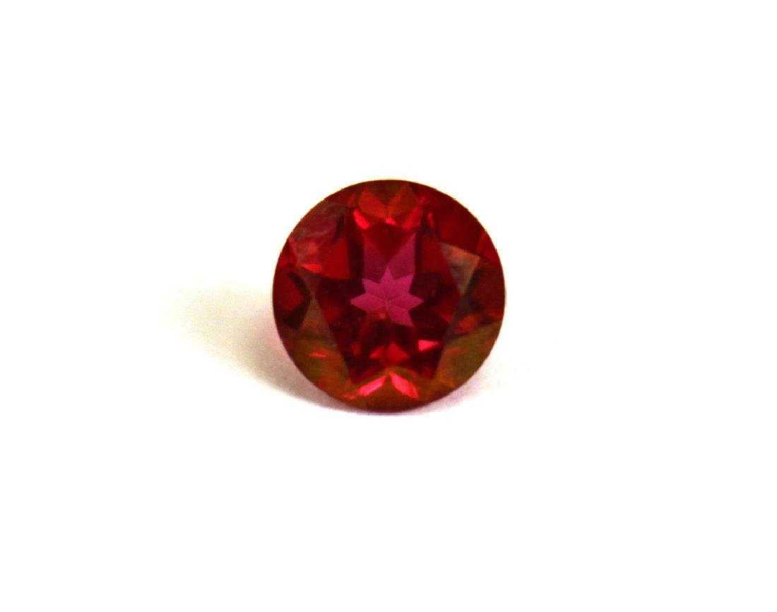2.00 CT MIN 8MM Crimson Red Topaz Gemstone - 4
