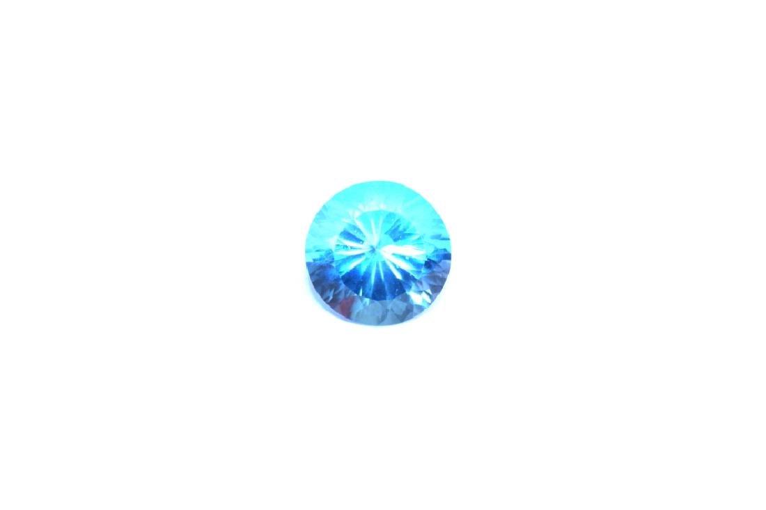 Approx 9.55 CT 14MM Swiss Blue Topaz Gemstone - 3