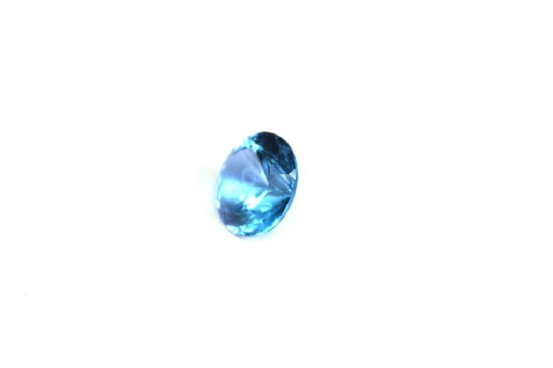 Approx 9.55 CT 14MM Swiss Blue Topaz Gemstone - 4
