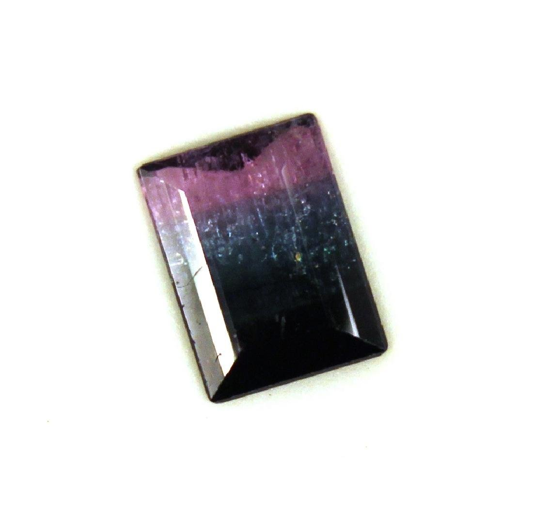 4.00 CT MIN Bi Color Tourmaline Gemstone