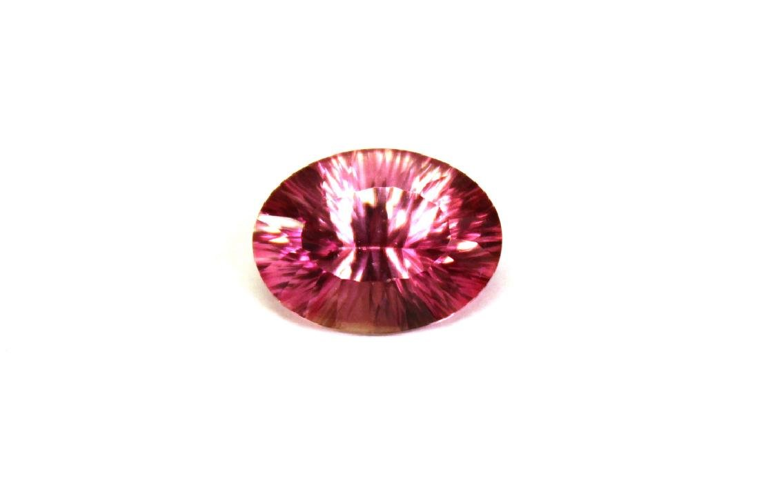 10.18 CT Oval Pink Topaz Gemstone