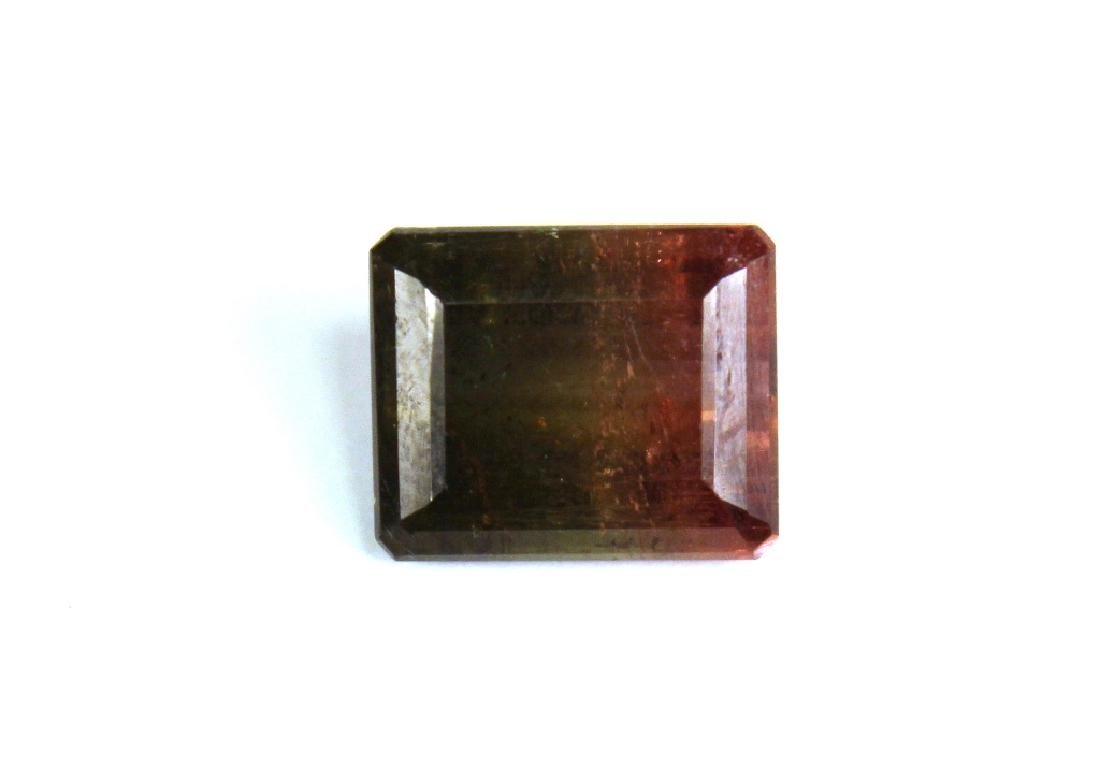 12.12 CT Bi Color Watermelon Tourmaline Gemstone - 4