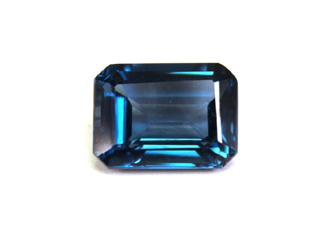 10.60 CT MIN 16x12MM London Blue Topaz Gemstone