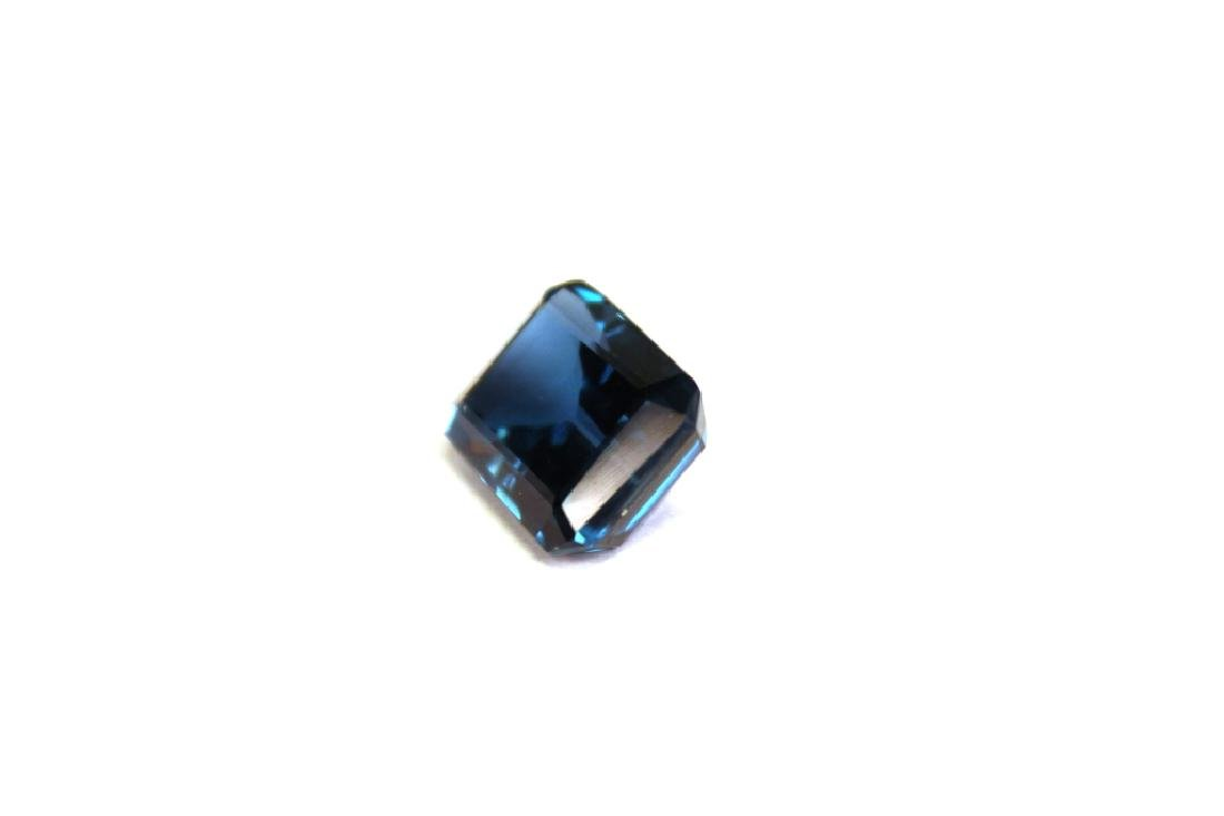 10.60 CT MIN 16x12MM London Blue Topaz Gemstone - 2
