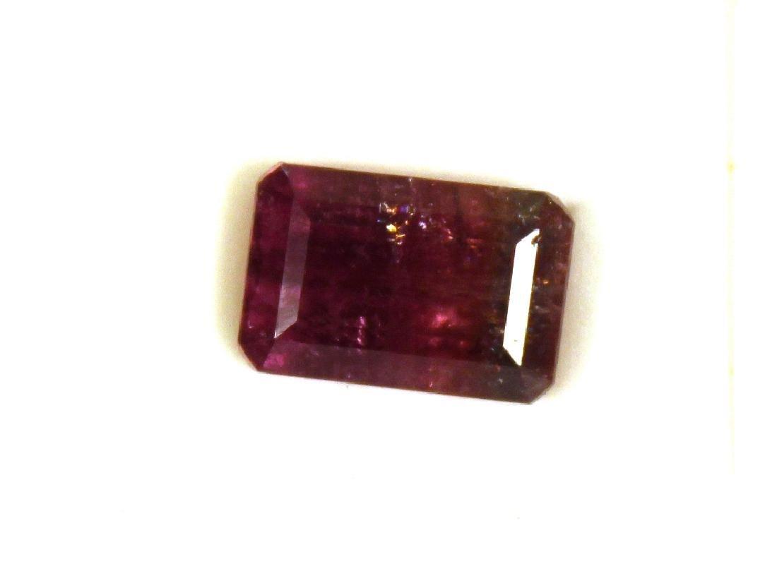 5.00 CT MIN Bi Color Tourmaline Gemstone