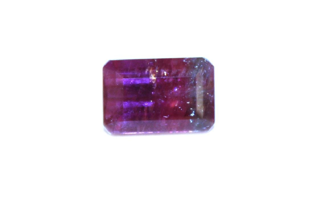 5.00 CT MIN Bi Color Tourmaline Gemstone - 2