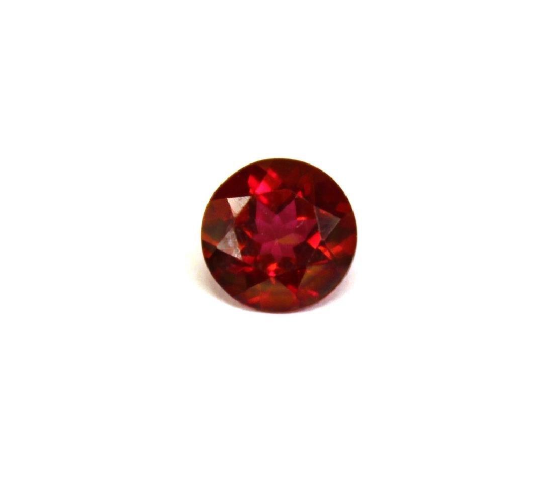 2.00 CT MIN 8MM Crimson Red Topaz Gemstone