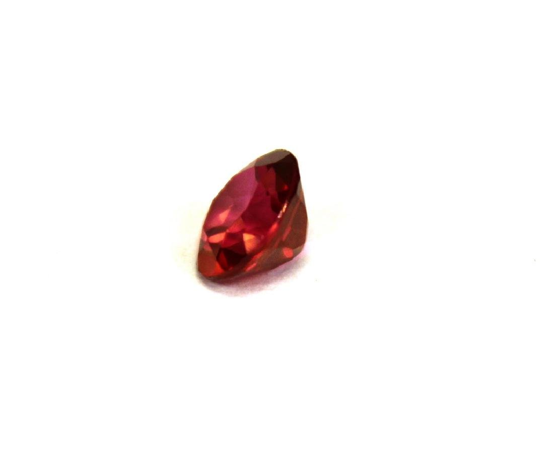 2.00 CT MIN 8MM Crimson Red Topaz Gemstone - 2