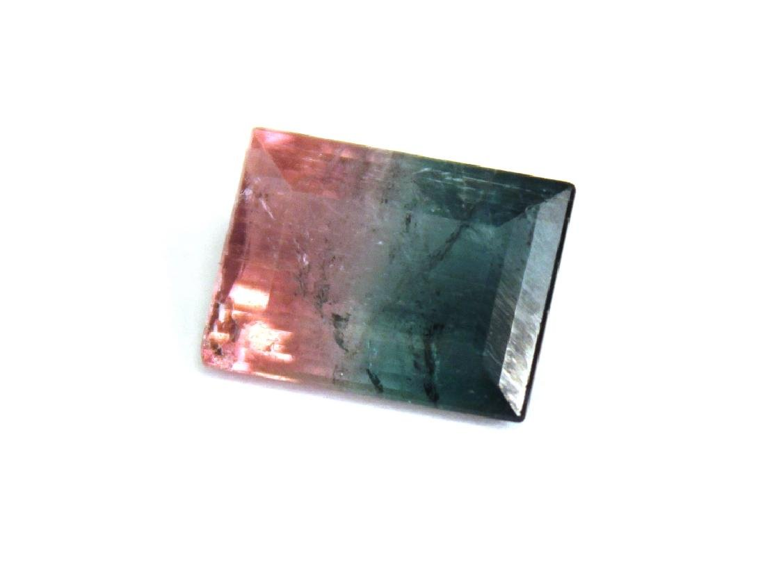 6.66 CT Bi Color Tourmaline Gemstone