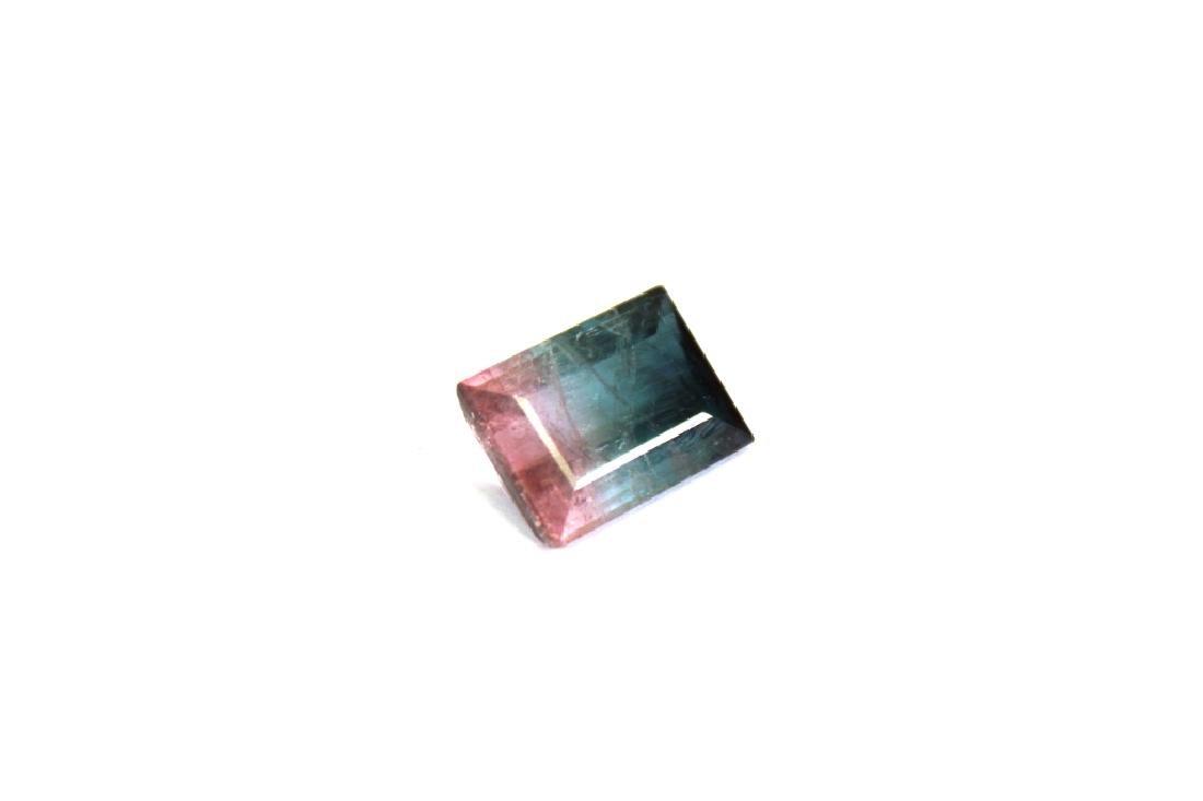 6.66 CT Bi Color Tourmaline Gemstone - 2