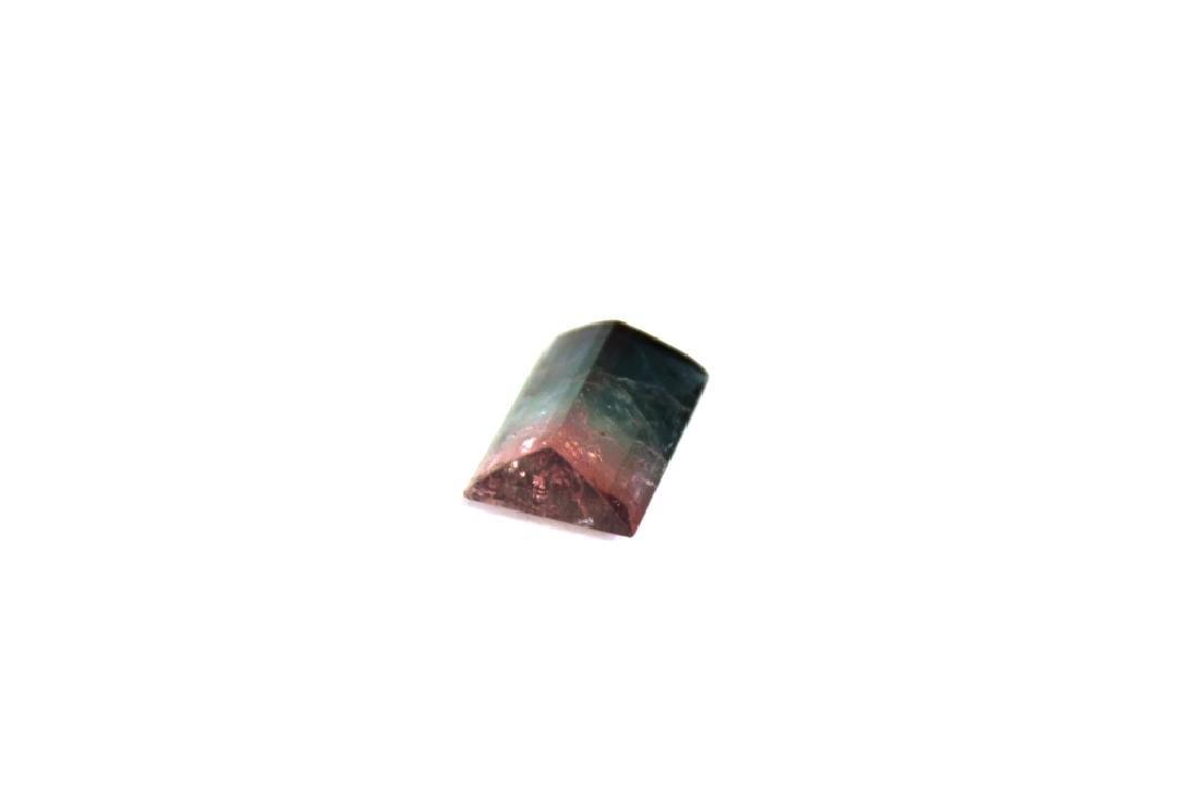 6.66 CT Bi Color Tourmaline Gemstone - 4