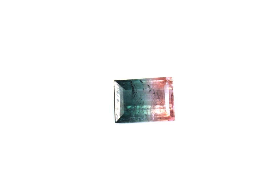 6.66 CT Bi Color Tourmaline Gemstone - 5