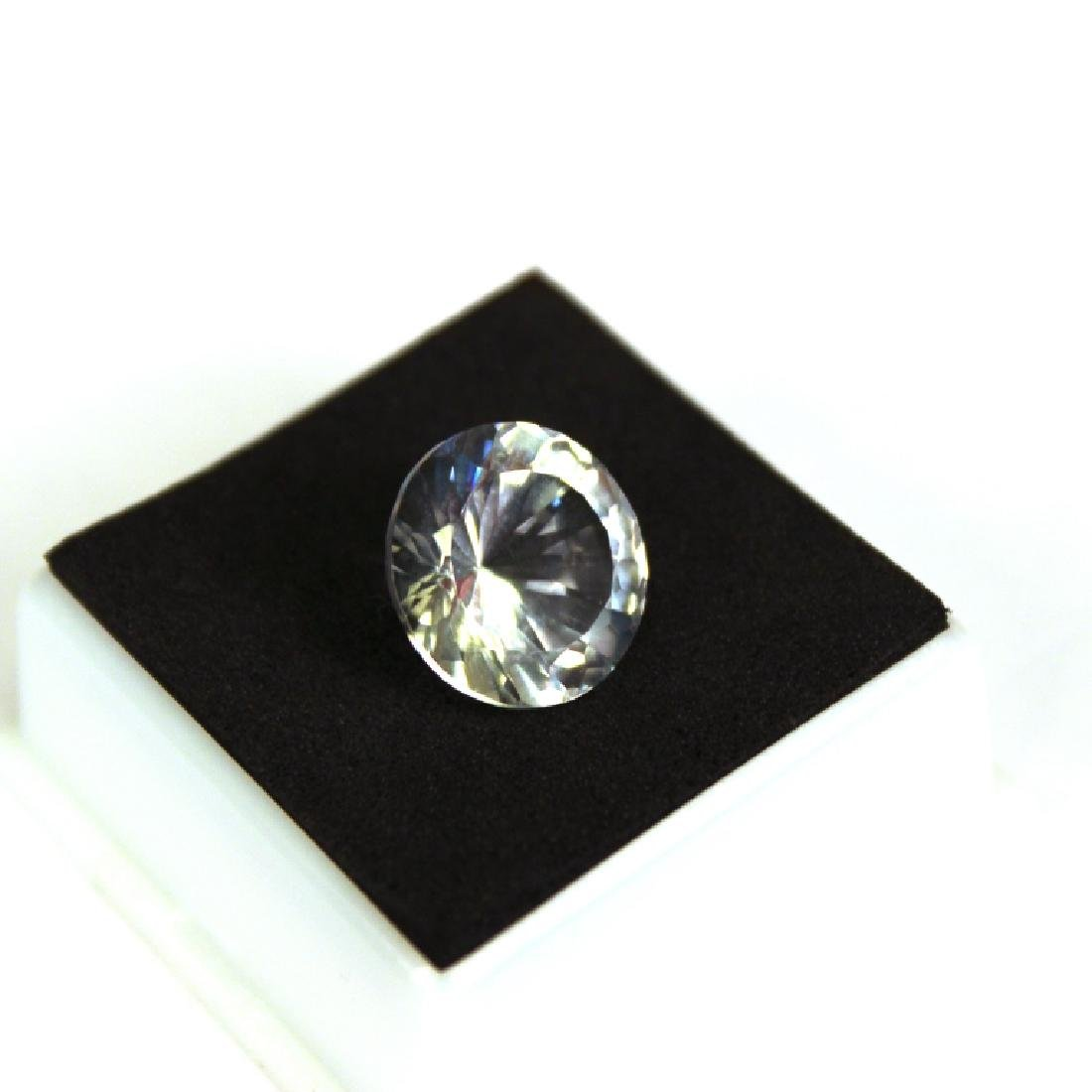 Approx 9.00 CT 14MM White Topaz Gemstone - 2