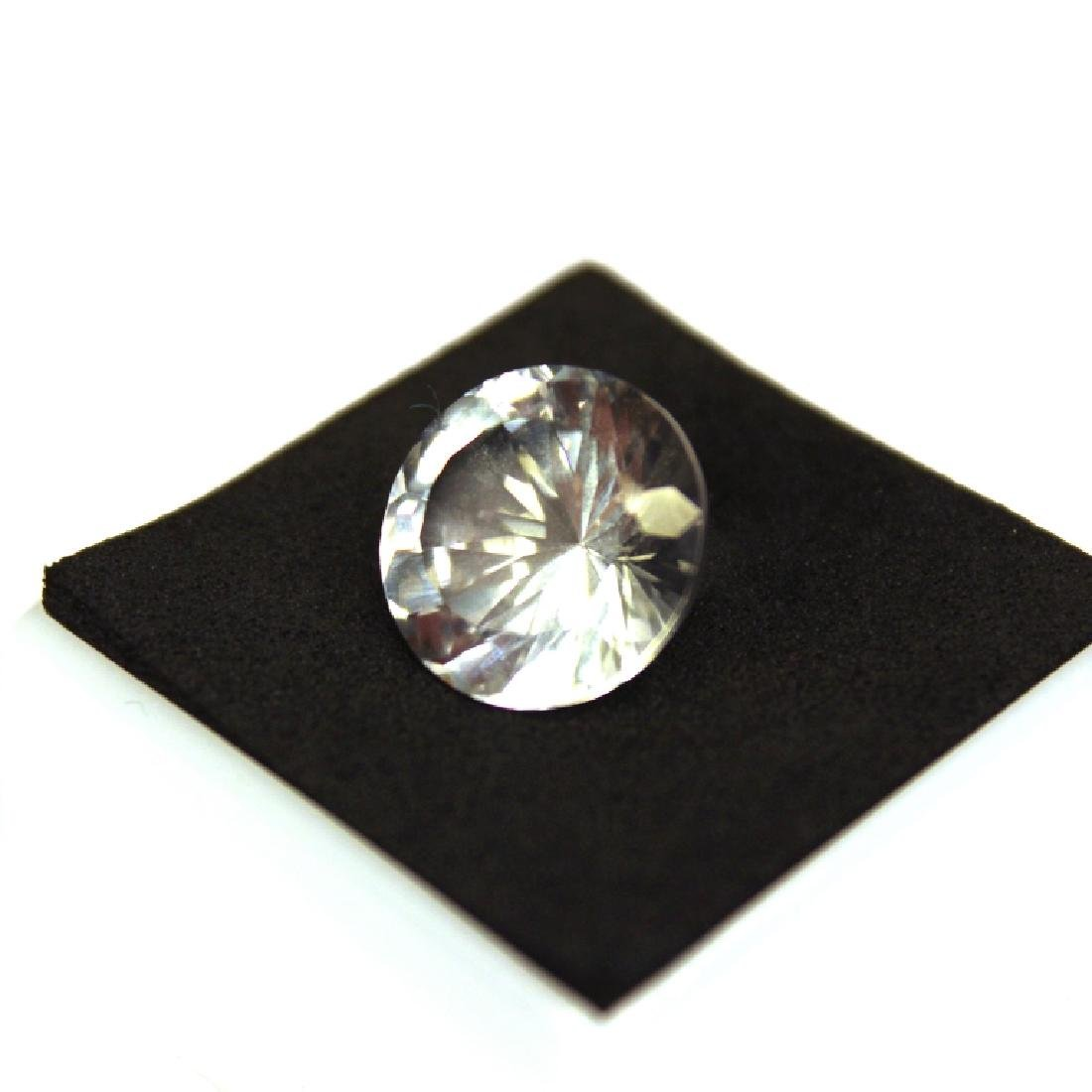 Approx 9.00 CT 14MM White Topaz Gemstone - 4