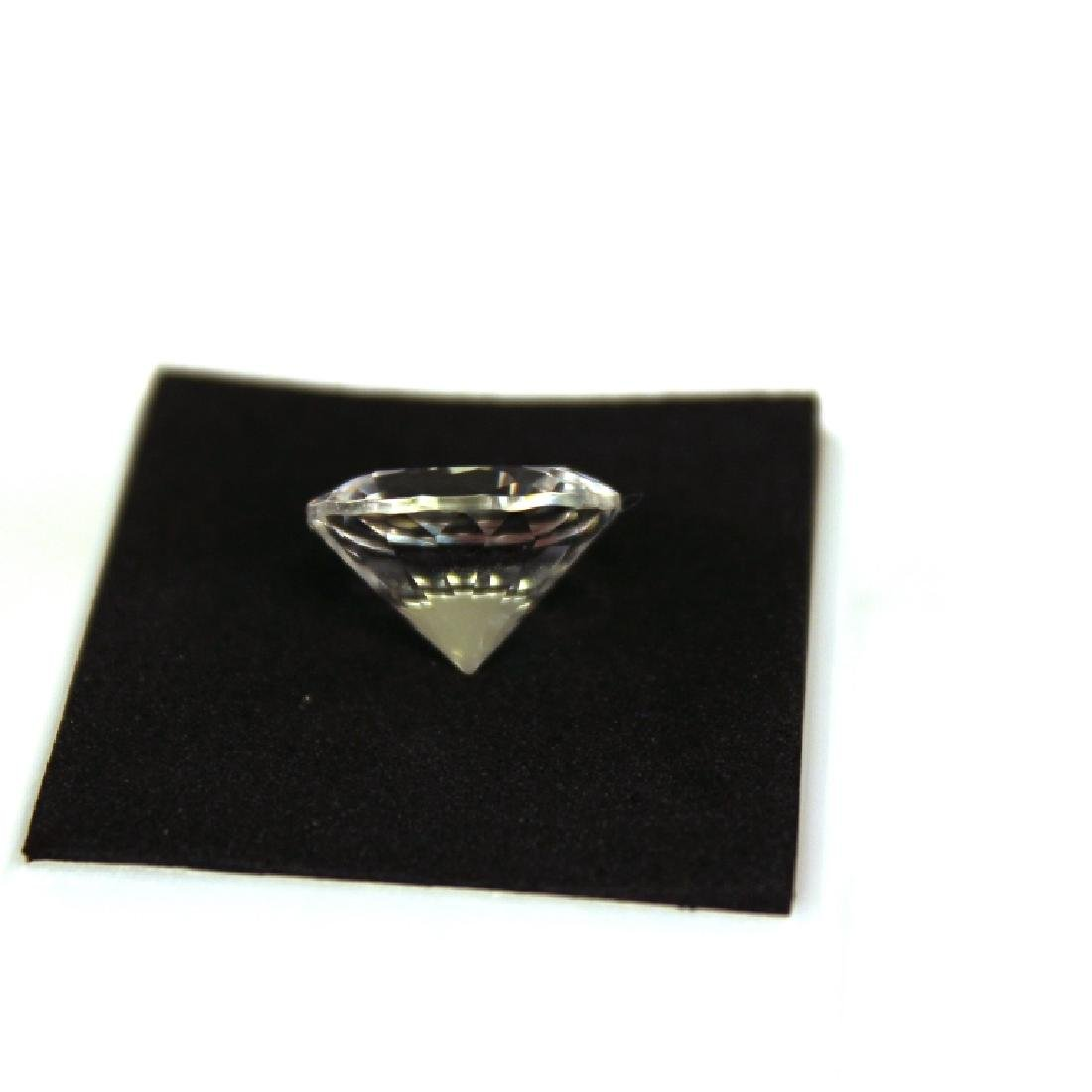 Approx 9.00 CT 14MM White Topaz Gemstone - 5
