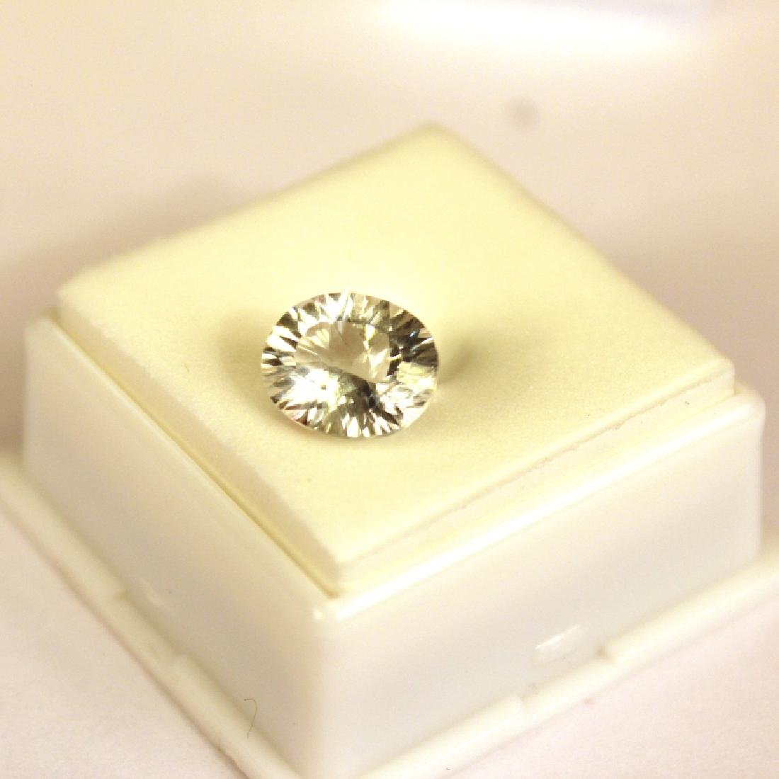 3.00 CT MIN 11x9MM White Topaz Gemstone