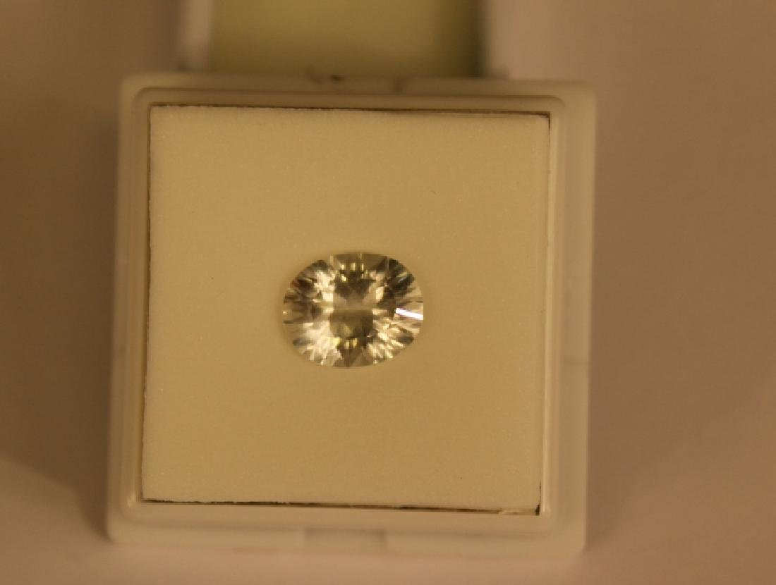 3.00 CT MIN 11x9MM White Topaz Gemstone - 5