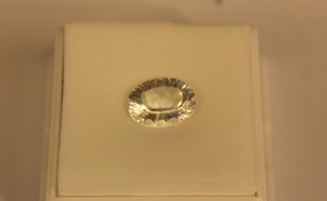3.00 CT MIN 11x9MM White Topaz Gemstone - 6
