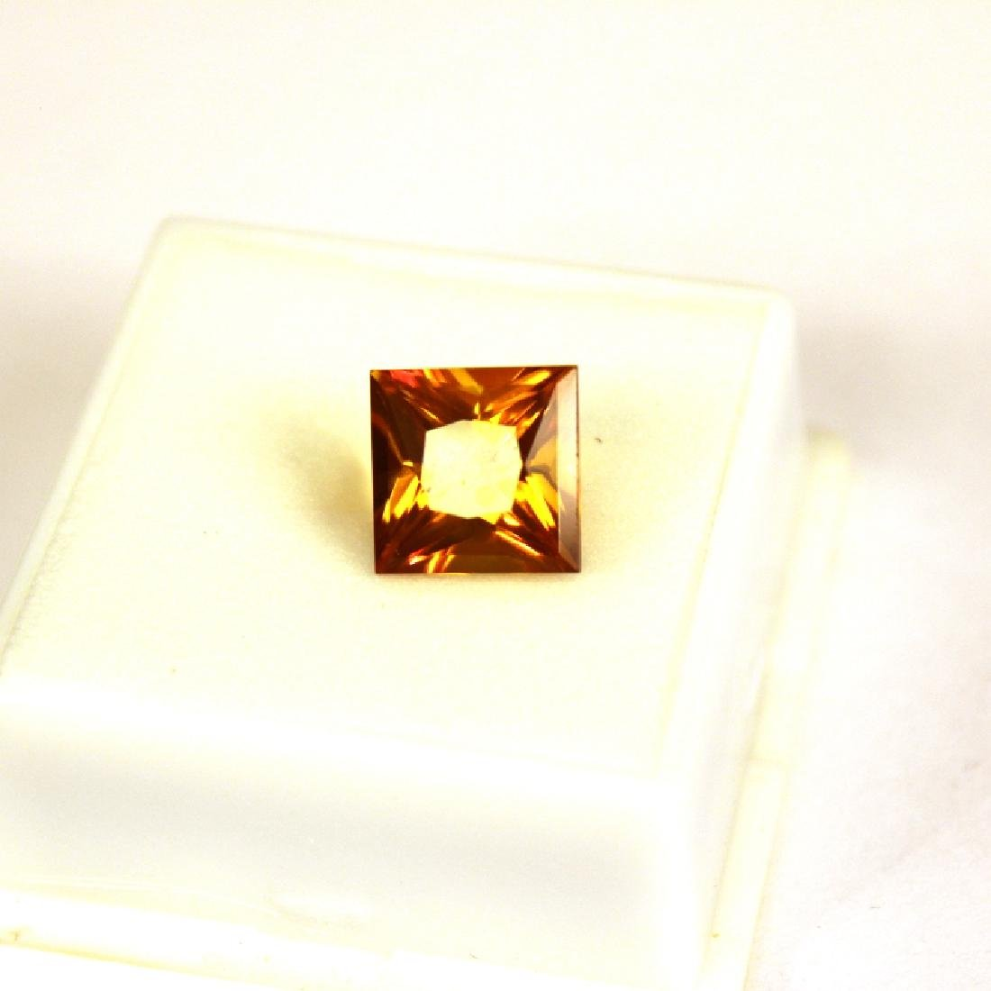 5.91 CT PC Treated Pineapple Topaz Gemstone - 5