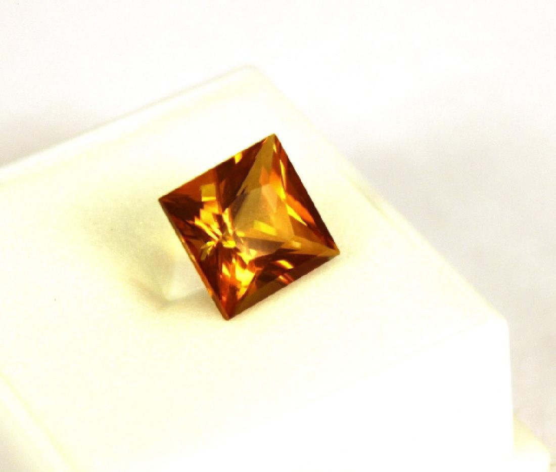 5.91 CT PC Treated Pineapple Topaz Gemstone - 6