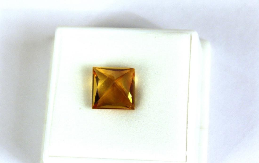 5.91 CT PC Treated Pineapple Topaz Gemstone - 9