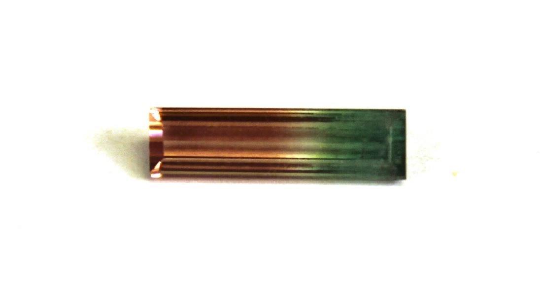 1.00 CT MIN Bi Color Tourmaline Gemstone