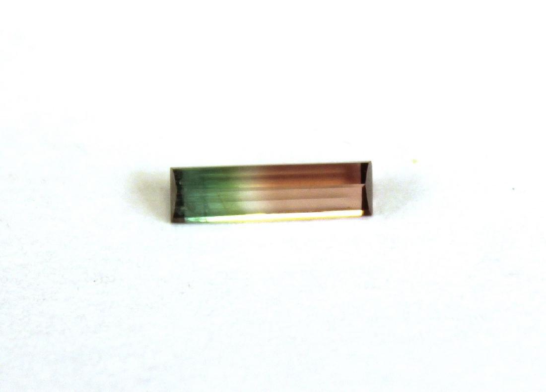 1.00 CT MIN Bi Color Tourmaline Gemstone - 3