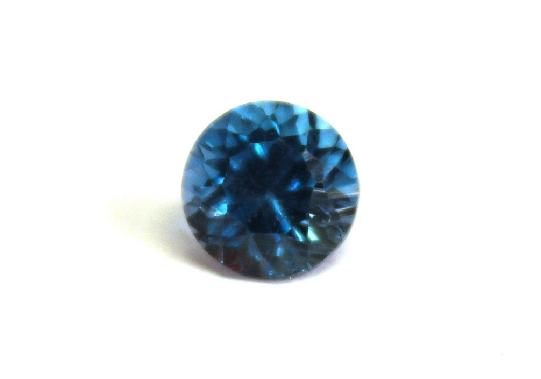 1.91 CT 7.11MM London Blue Topaz Gemstone