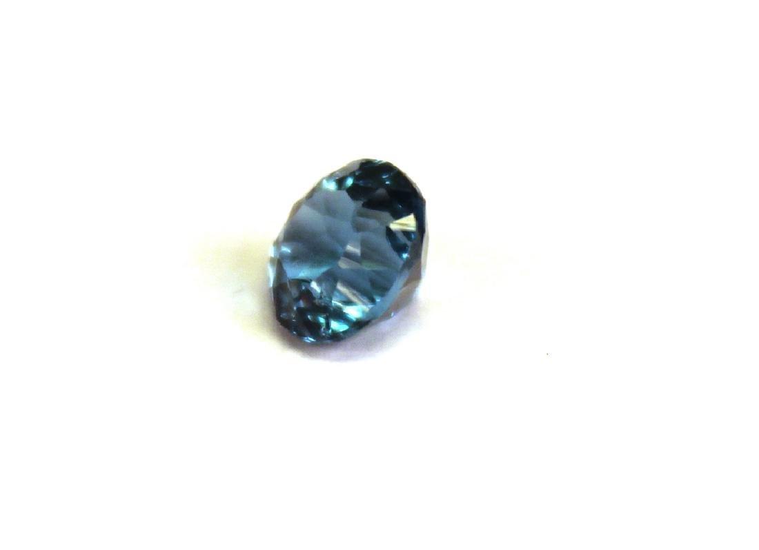 1.91 CT 7.11MM London Blue Topaz Gemstone - 2