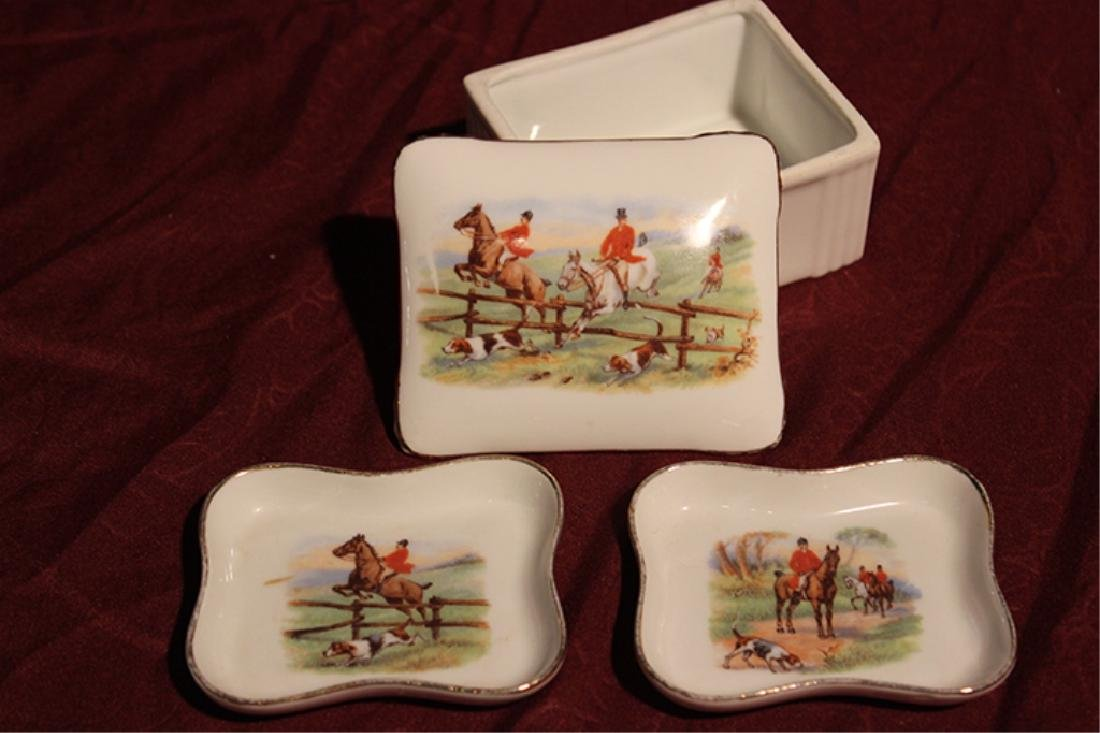 Limoges Trinket Box with 2 Dishes