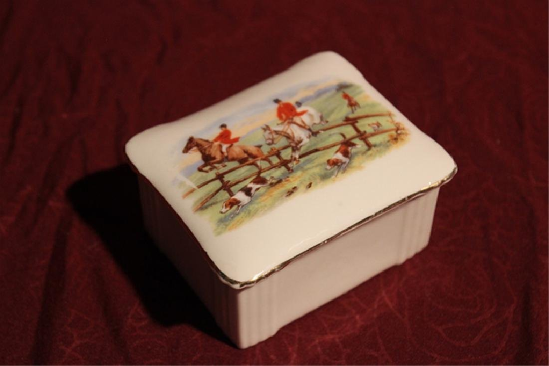 Limoges Trinket Box with 2 Dishes - 2
